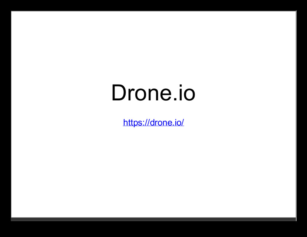 Drone.io https://drone.io/