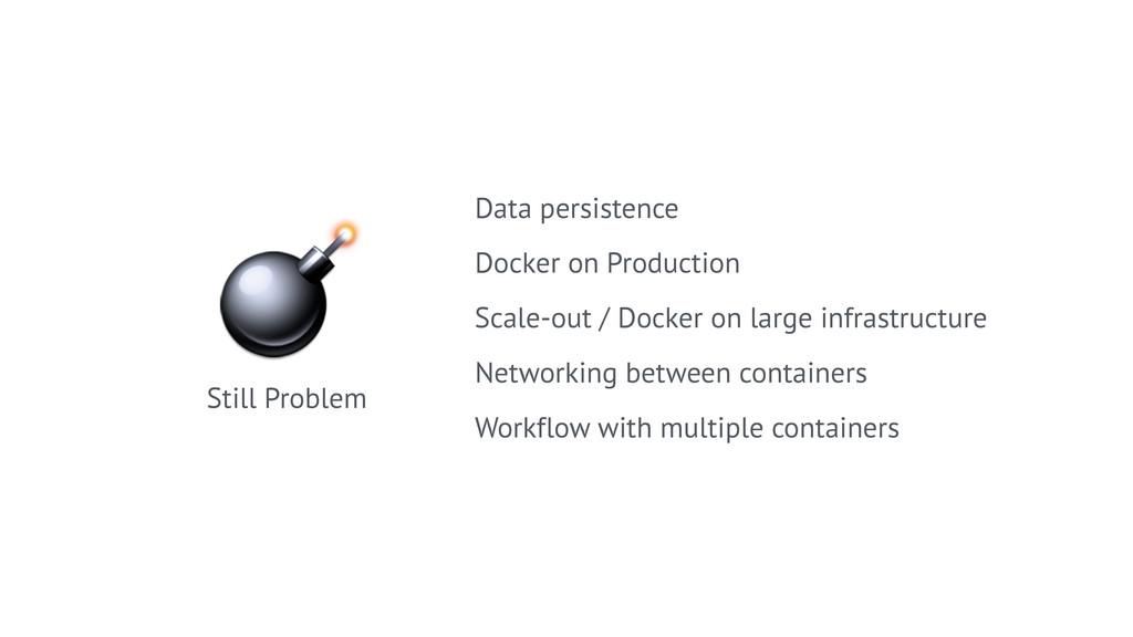 Still Problem Data persistence Docker on Produ...