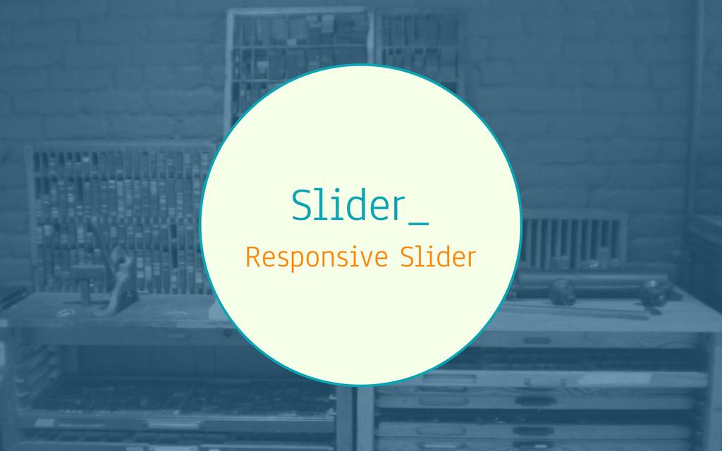 Slider_ Responsive Slider