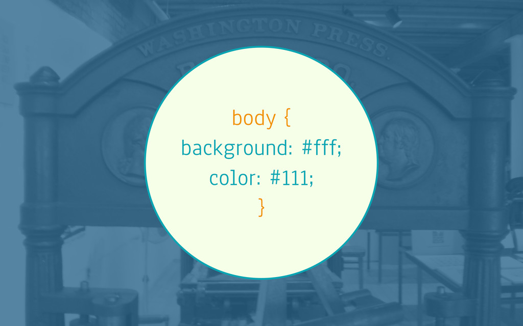 body { background: #fff; color: #111; }