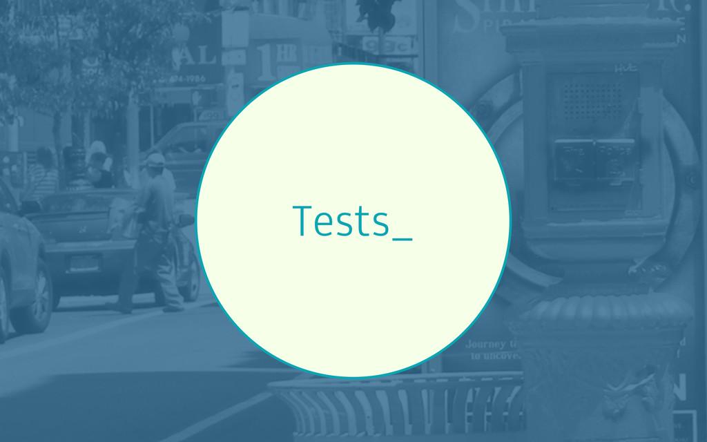 Tests_