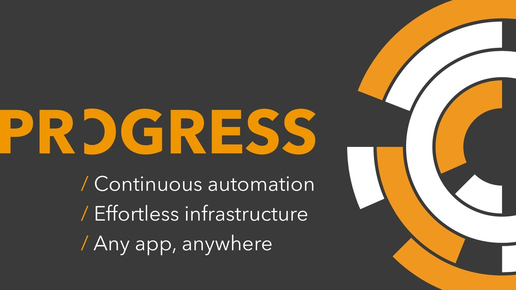 OGRESS / Continuous automation / Effortless inf...