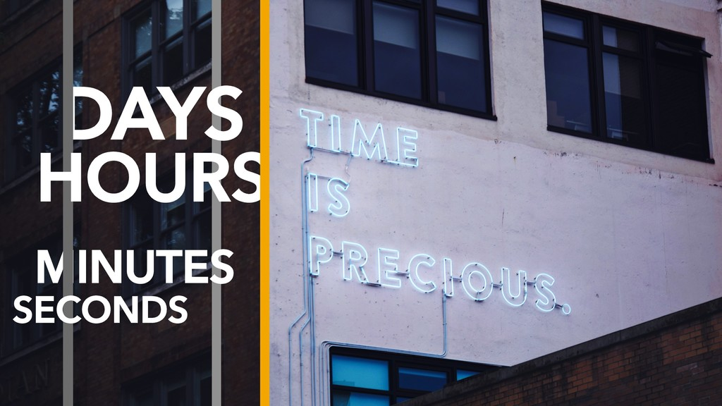 DAYS MINUTES HOURS SECONDS