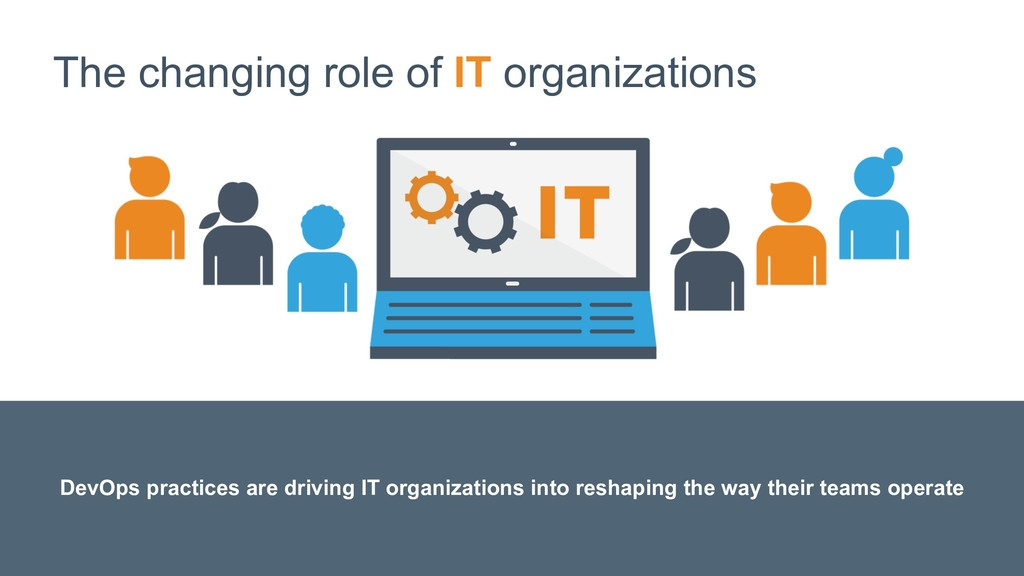 The changing role of IT organizations DevOps pr...