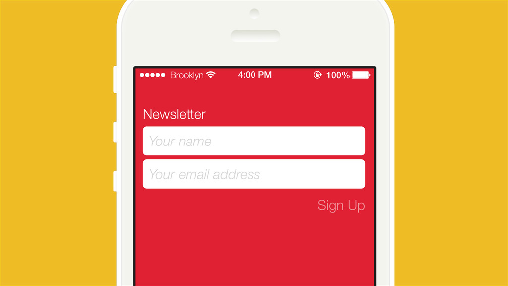 Newsletter Your name Your email address Sign Up...