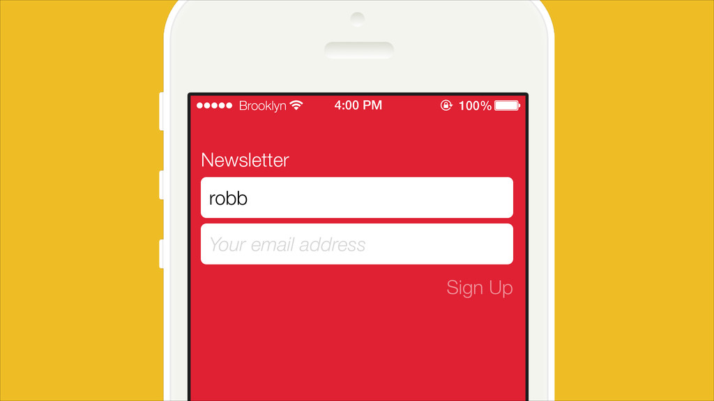 Newsletter Your email address Sign Up robb Broo...