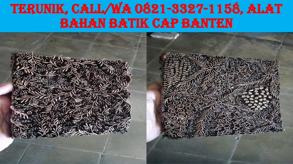 TERUNIK, Call/WA 0821-3327-1158, Alat Bahan Bat...