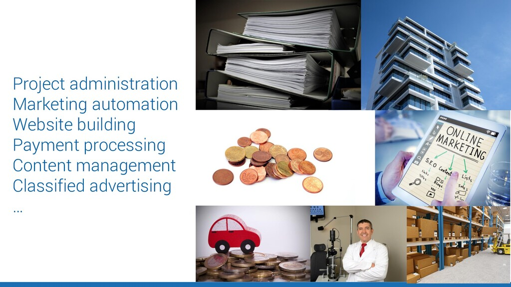 Project administration Marketing automation Web...