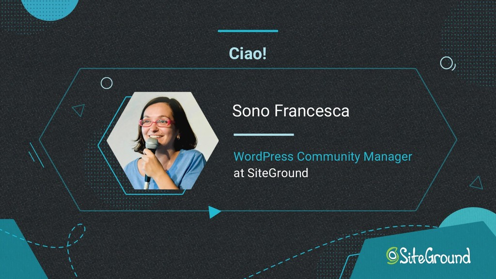 Ciao! Sono Francesca WordPress Community Manage...