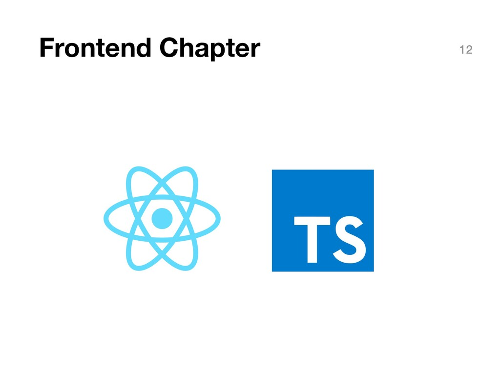 Frontend Chapter 12