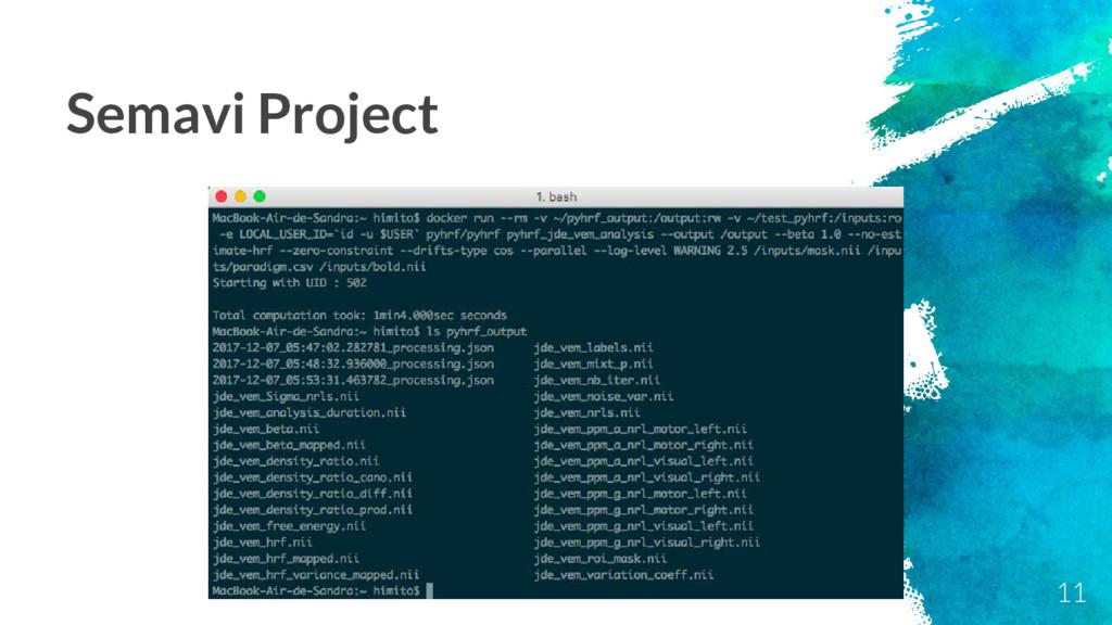 11 Semavi Project
