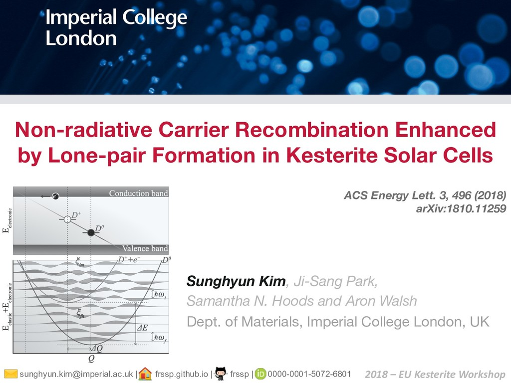 Non-radiative Carrier Recombination Enhanced by...