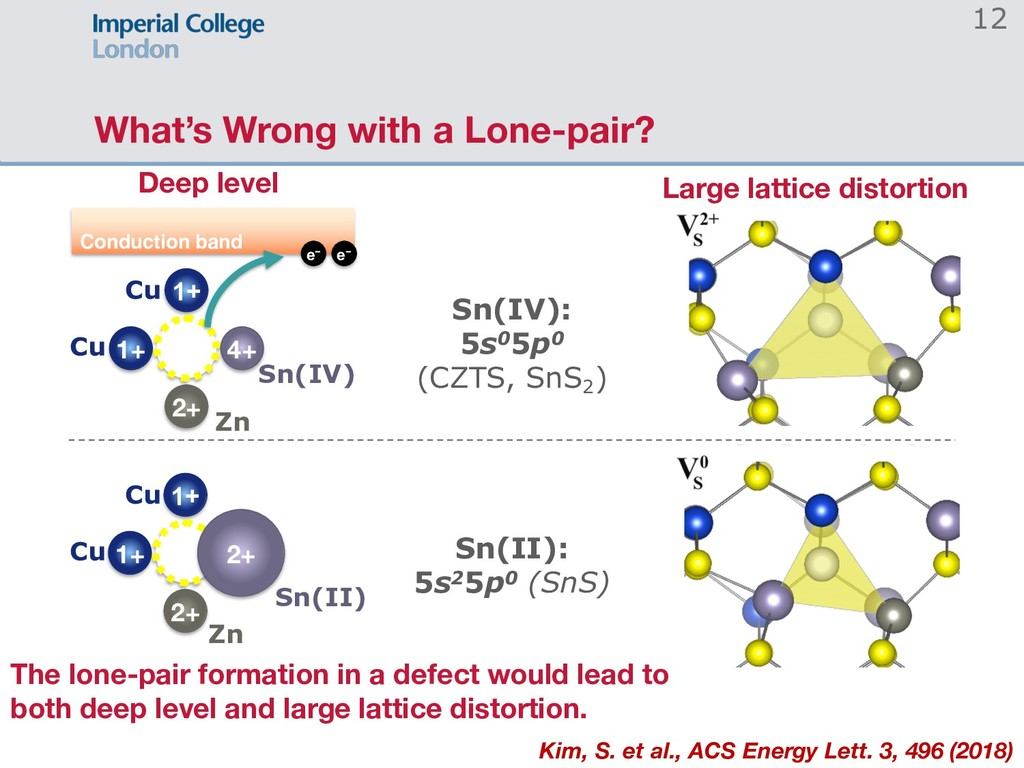 What's Wrong with a Lone-pair? 12 Deep level La...