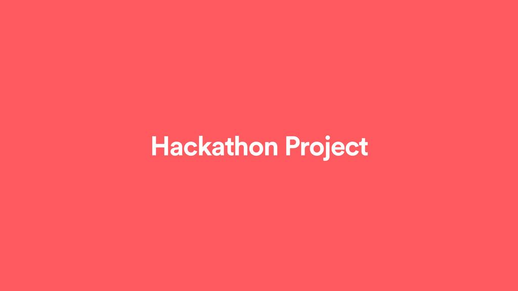 Hackathon Project