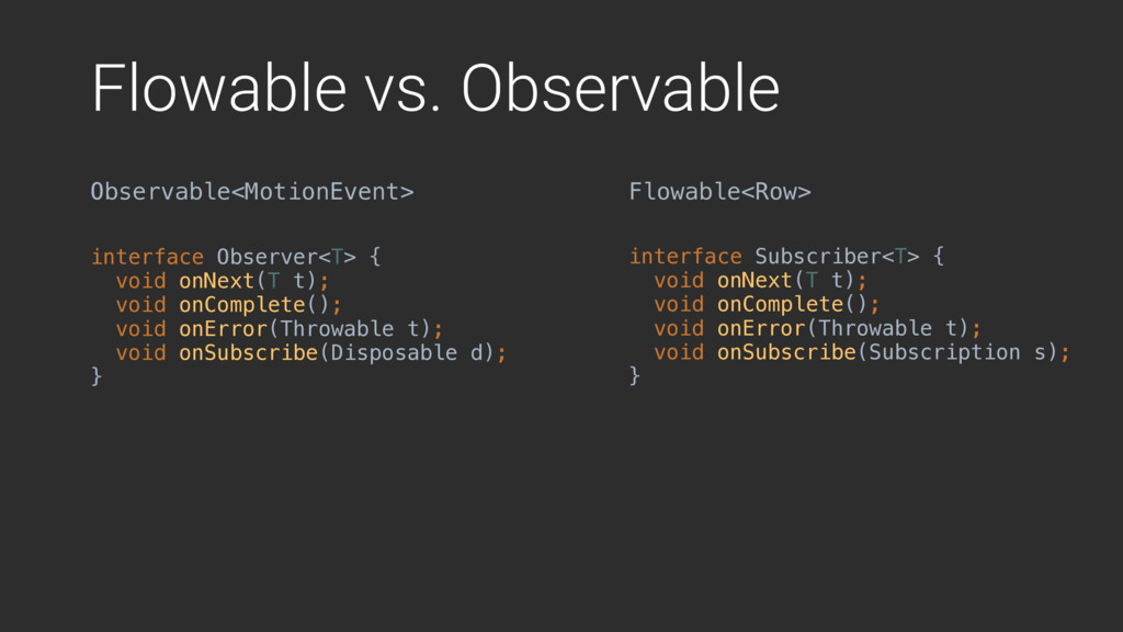 Flowable vs. Observable Observable<MotionEvent>...