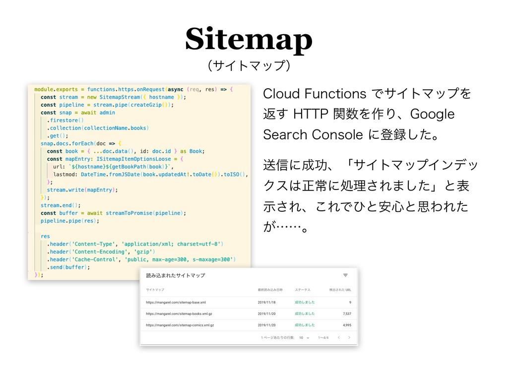 Sitemap ʢαΠτϚοϓʣ $MPVE'VODUJPOTͰαΠτϚοϓΛ ฦ͢)5...