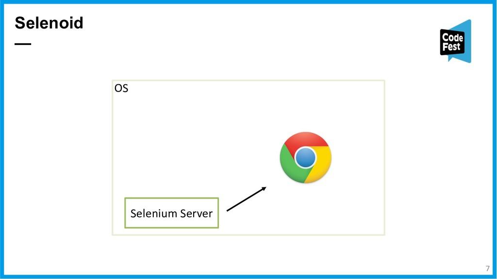 Selenoid — Selenium Server OS 7