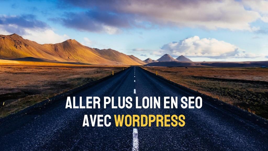 Aller plus loin en SEO avec WordPress