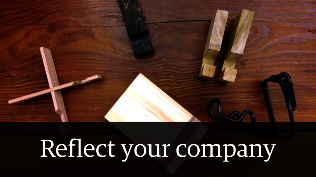 Reflect your company
