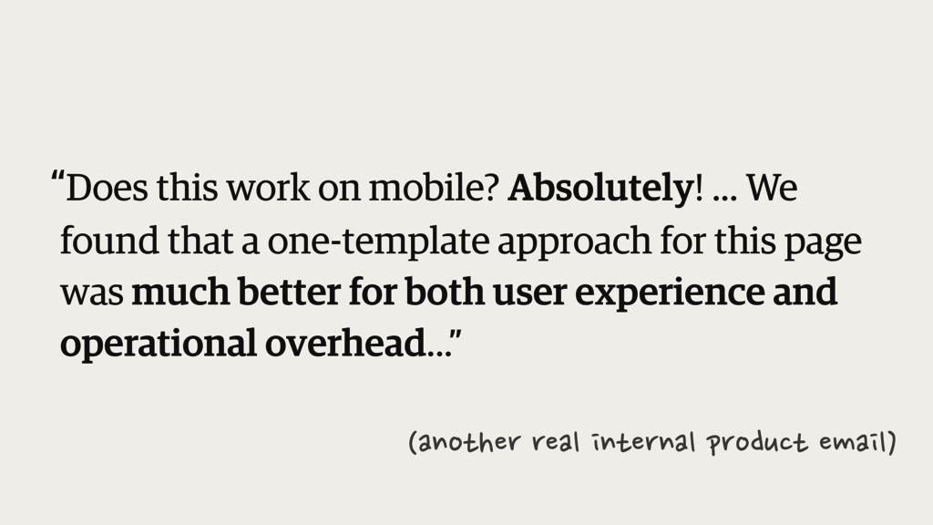 """""""Does this work on mobile? Absolutely! ... We f..."""