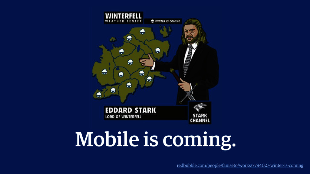 Mobile is coming. redbubble.com/people/faniseto...