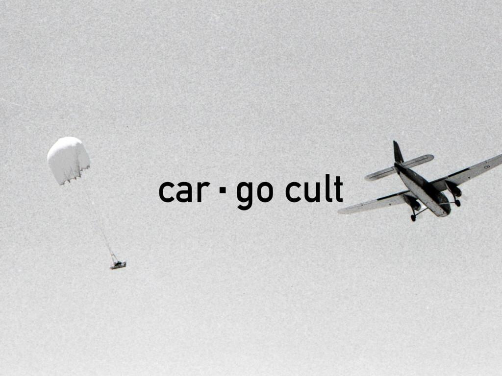 car·go cult