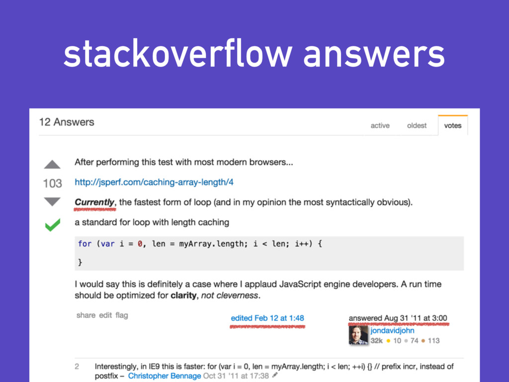 stackoverflow answers