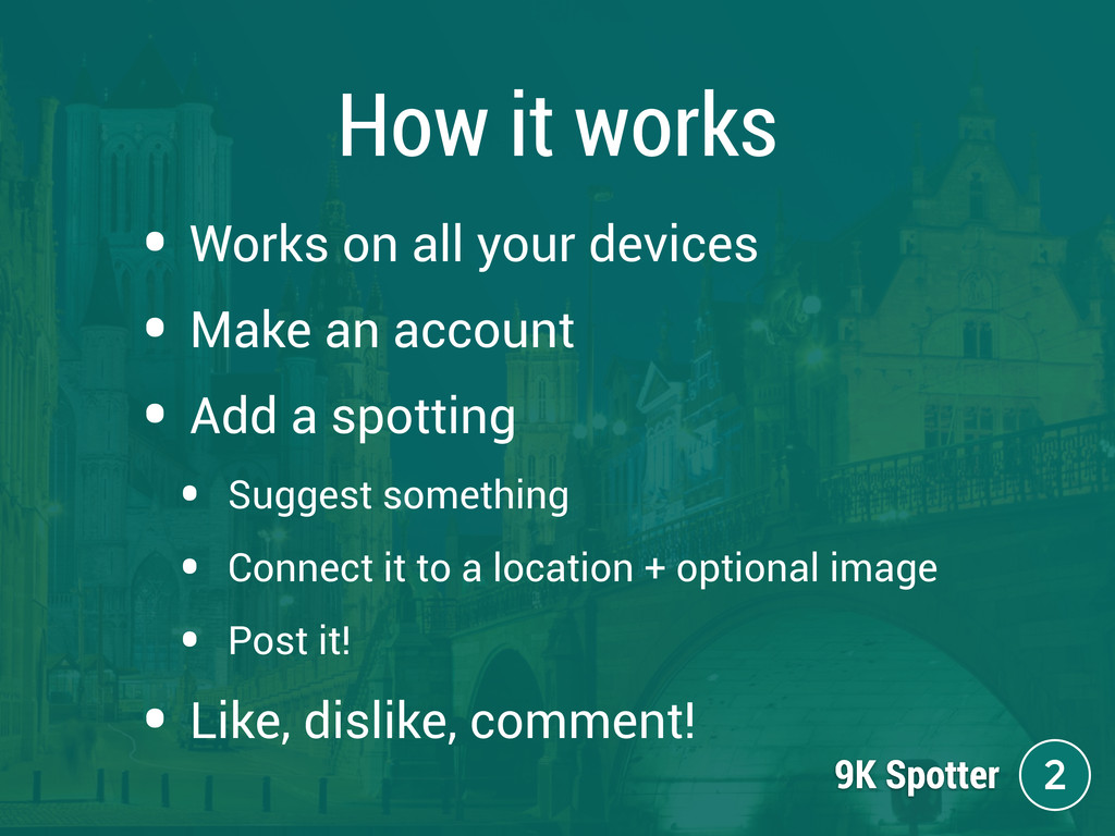 How it works • Works on all your devices • Make...