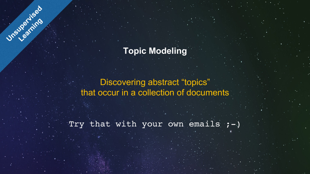 "Topic Modeling Discovering abstract ""topics"" th..."
