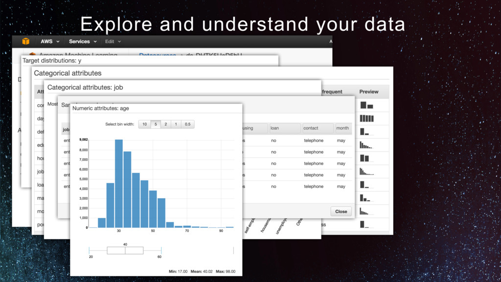 Explore and understand your data