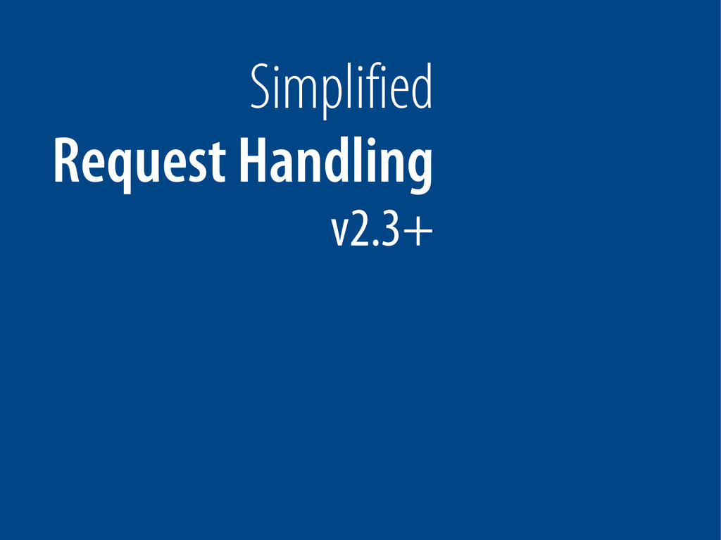 Bernhard Schussek @webmozart 21/89 Simplified R...