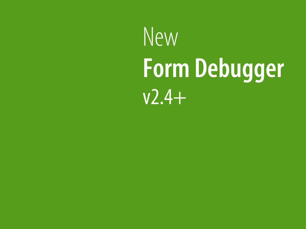 Bernhard Schussek @webmozart 35/89 New Form Deb...