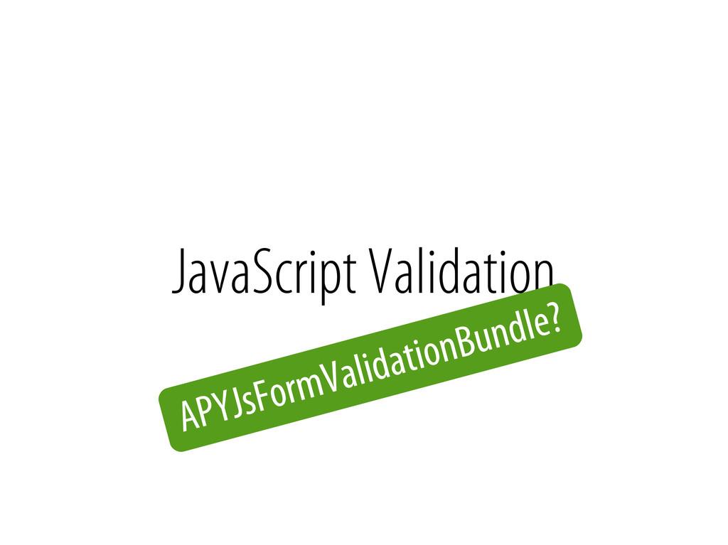 Bernhard Schussek @webmozart 61/89 JavaScript V...