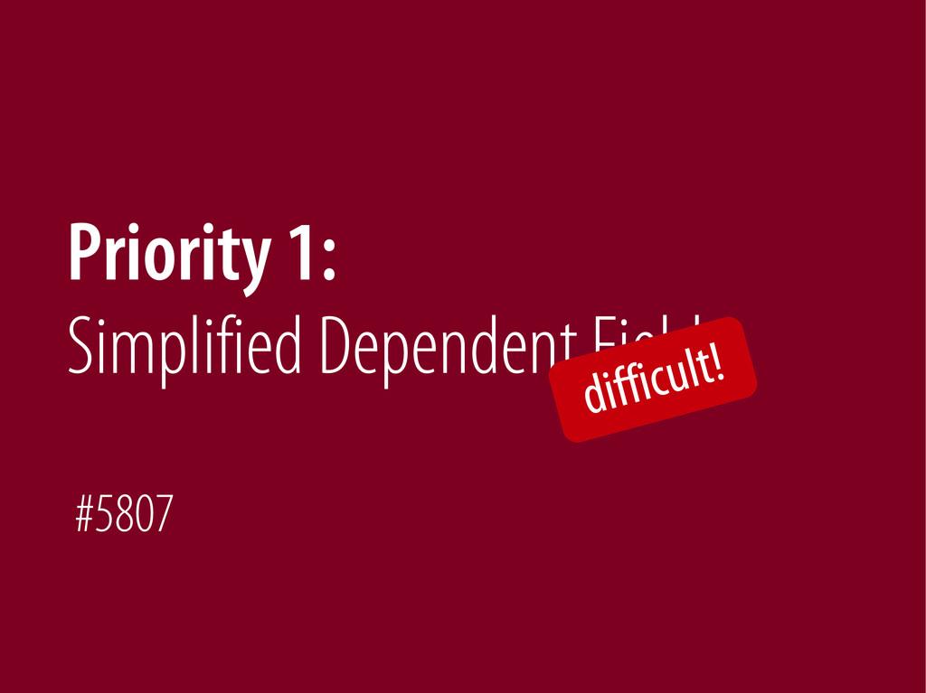 Bernhard Schussek @webmozart 72/89 Priority 1: ...