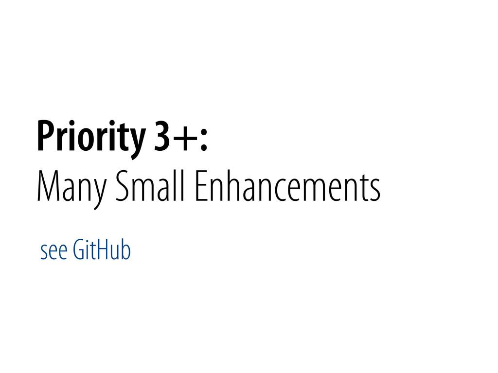 Bernhard Schussek @webmozart 74/89 Priority 3+:...
