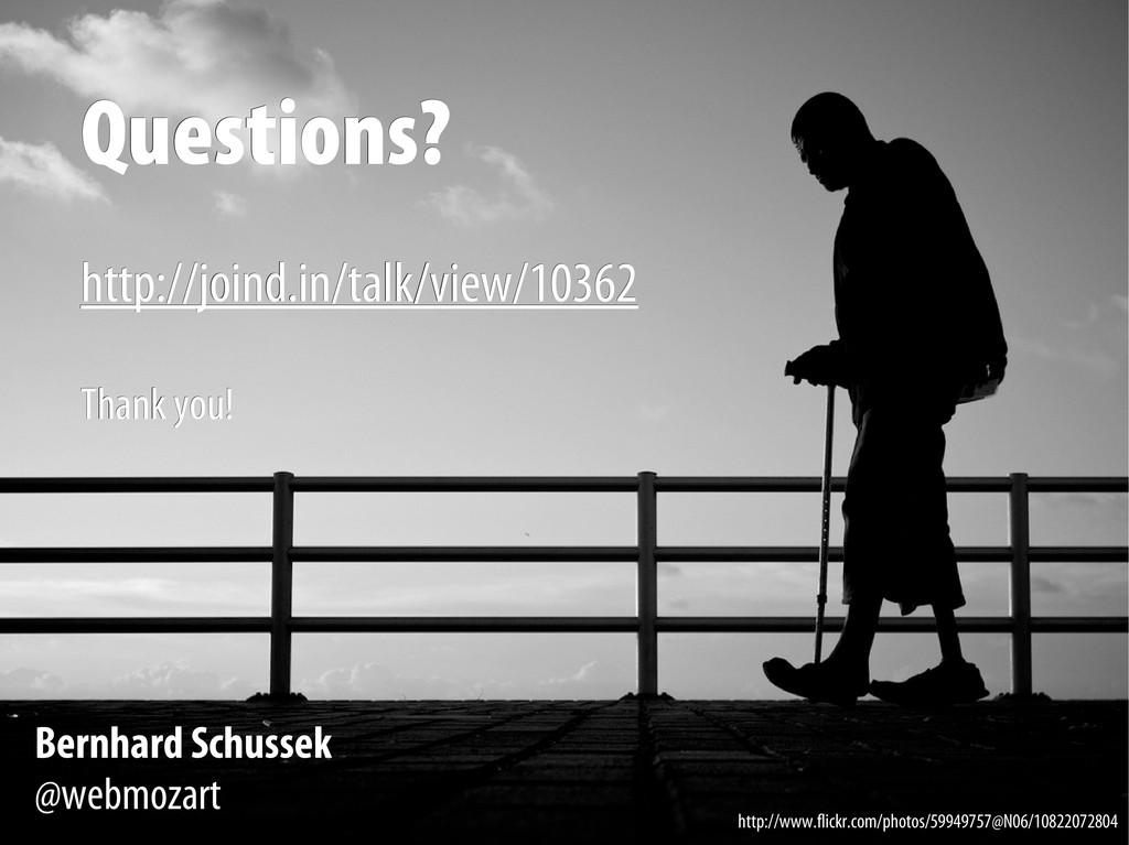 Bernhard Schussek @webmozart 89/89 Questions? Q...