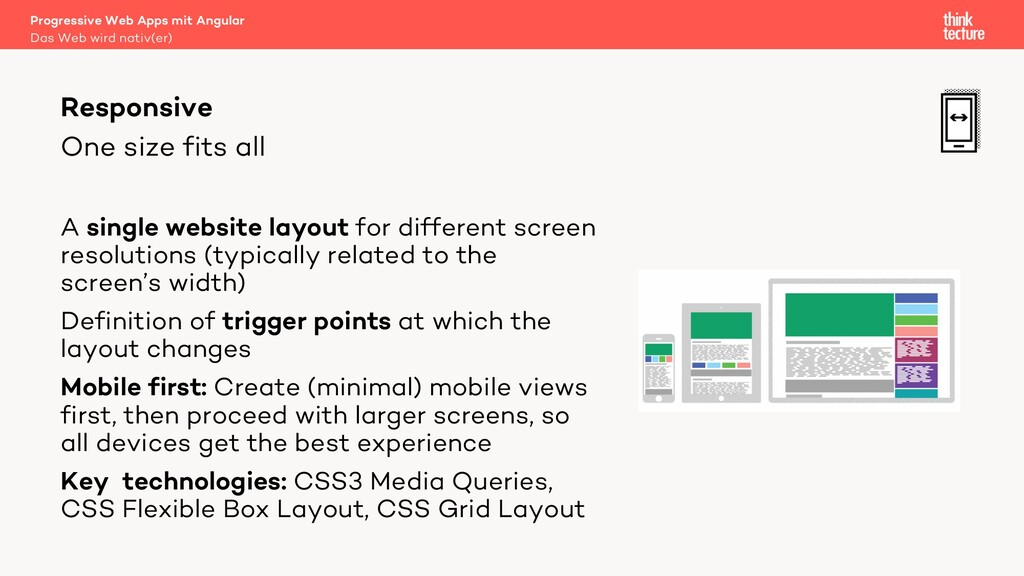 One size fits all A single website layout for d...