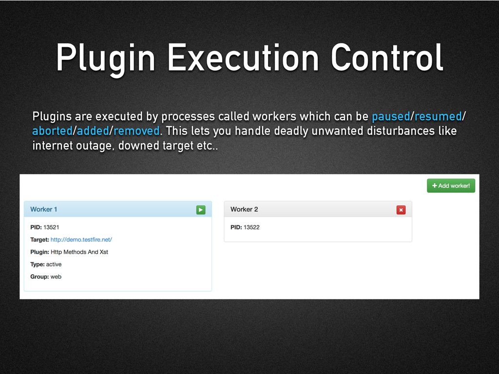Plugin Execution Control Plugins are executed b...