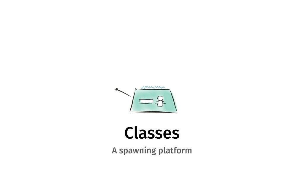 Classes A spawning platform