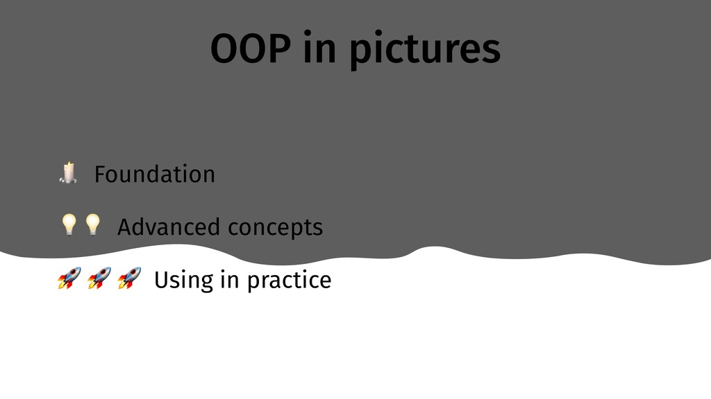 OOP in pictures  Foundation  Advanced concepts ...