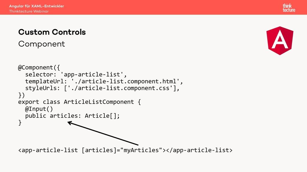 Component @Component({ selector: 'app-article-l...