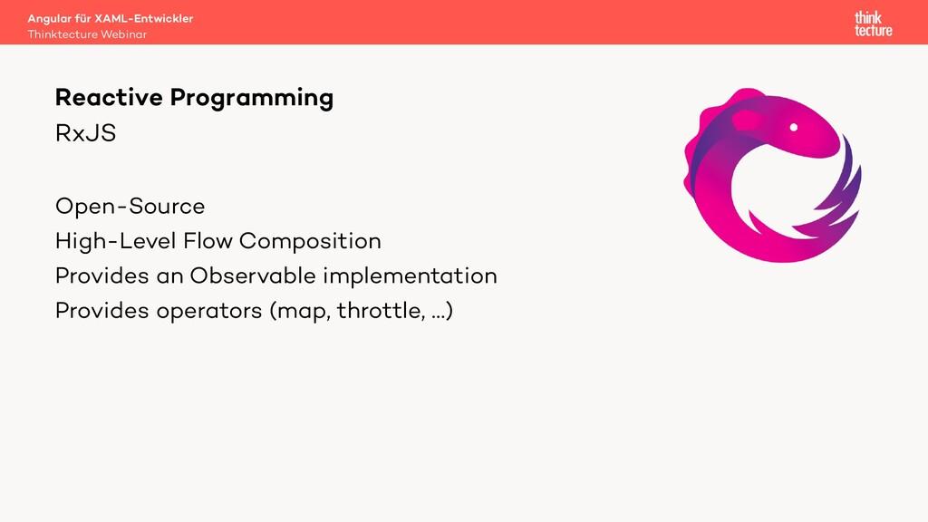 RxJS Open-Source High-Level Flow Composition Pr...