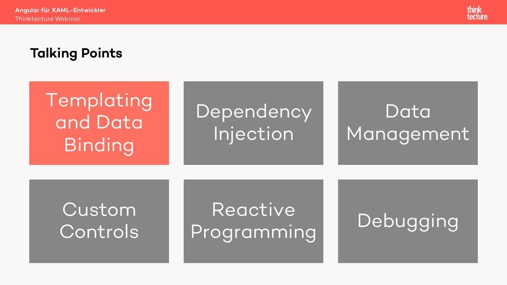 Talking Points Templating and Data Binding Depe...