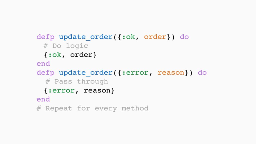 defp update_order({:ok, order}) do # Do logic ...