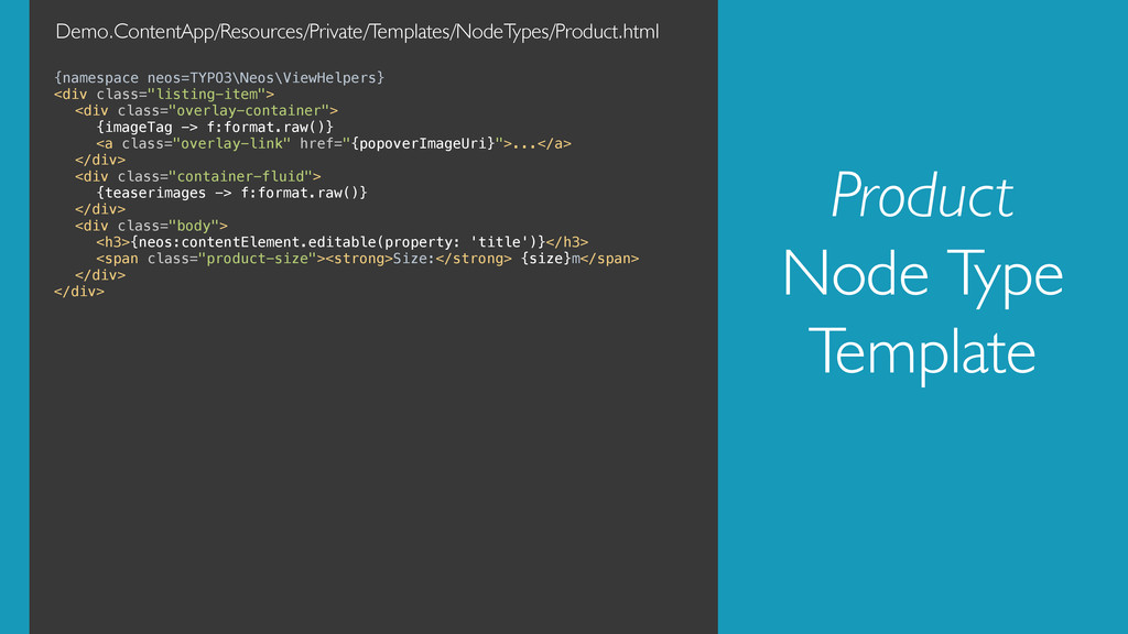 Product Node Type Template {namespace neos=TYPO...