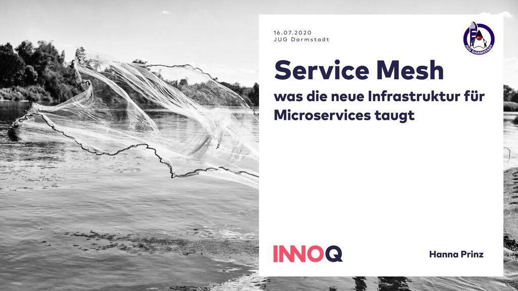 Service Mesh was die neue Infrastruktur für Mic...