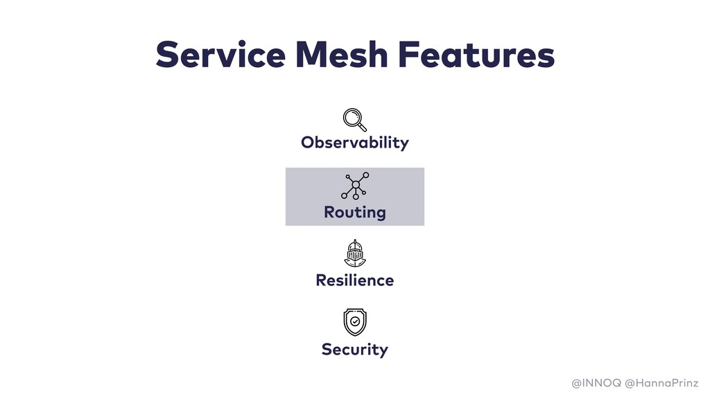 Service Mesh Features Observability Resilience ...