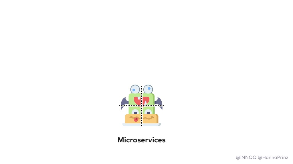 Microservices @INNOQ @HannaPrinz