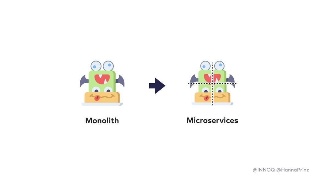 Monolith Microservices @INNOQ @HannaPrinz