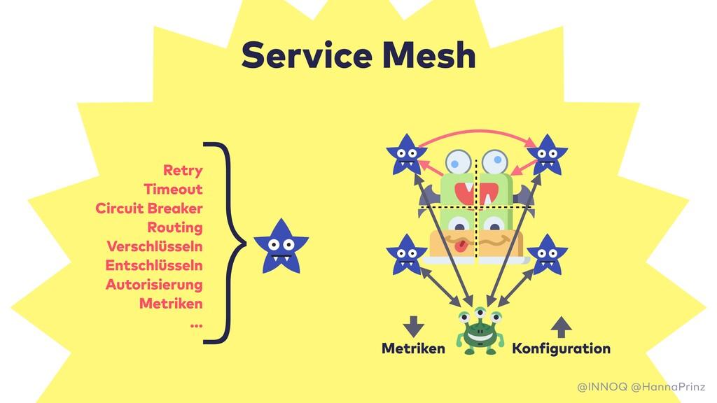 Service Mesh Metriken Konfiguration Retry Timeo...